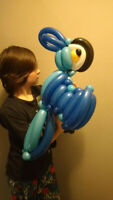 top balloon artist and performer for events and birthdays.