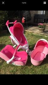 Dolly 3 system Quinny buggy