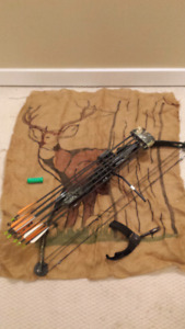 PSE Compound Bow with Arrows and Quick Release