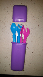 Baby Spoons And Forks On-The-Go