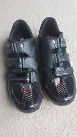 Specialized cycling shoes.