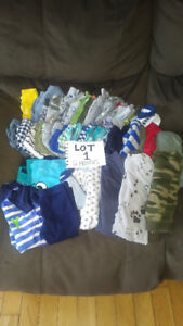Baby boy clothing (many sizes)