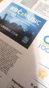 Brian Adam concert ticket(s), July 31, 2018 -Summerside, PE