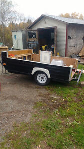 6ftx7ft Utility trailer for sale