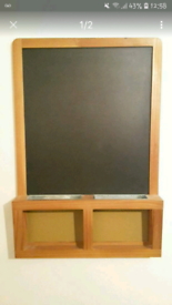 IKEA CHALK BLACK NOTE BOARD LARGE BOXED AS NEW