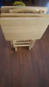 3 TV trays for sale