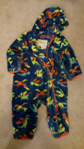 Hatley Fleece Bundler Dragon 18-24 mos., Gently Used