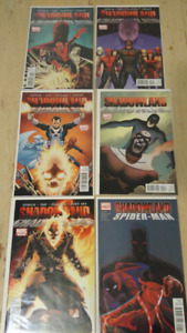 Shadowland - 5 Comic Limited Series! +Spiderman one shot!