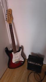 Full electric guitar set