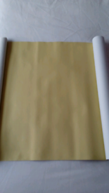 Brand New! Yellow Canvas type Fabric 67 inches long & 17 inches wide!!