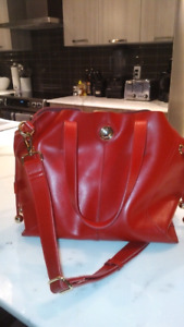 Jeanne Lottie Red Purse