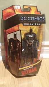 "DC Comics Unlimited Injustice BATMAN 6"" figure brand new!"