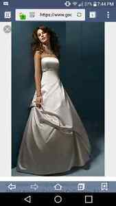 Alfred angelo sapphire collection wedding gown