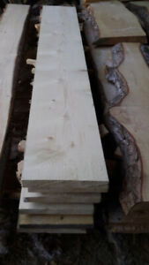 Knotty Pine Rough Lumber for Bldg Shelves, Benches Coffee Tables