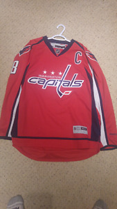 Authentic Washington Capitals Ovechkin Jersey