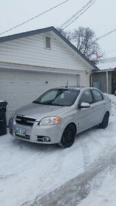 PRICE REDUCED !!!  2009 Chevrolet Aveo LT Sedan
