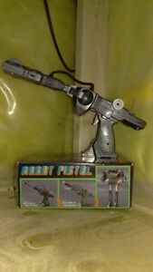 VINTAGE Transformable Robot Pistol in ORIGINAL BOX