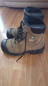 Women's Dakota steel toed work boots size 8