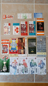 Canadian Football League 15 Grey Cup Tickets and 3 Misc Tickets