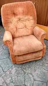 Older lazy boy recliner chair