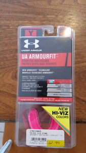 kids mouthguard unopened pink