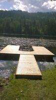 8' x 16' floating dock