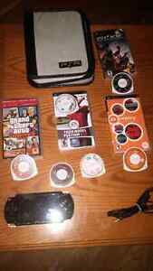 PSP and games $80