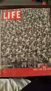 Dodgers Baseball April 5, 1948 issue of LIFE Magazine