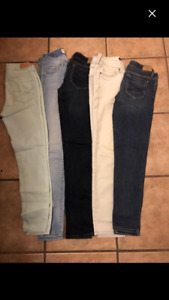 Teen Jean Lot-size 000, 00, 0-take all