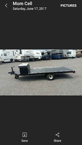 Utility Trailer-Custom Made 12x5
