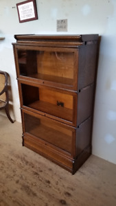 BARRISTERS BOOKCASE   COMPLETE REFINISH