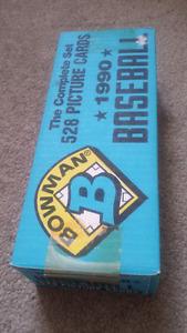 1990 bowman baseball card set for sale
