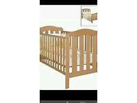 Mamas and papas Eloise cot and cot bed