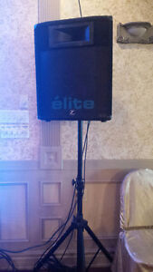 Two speakers ELITE 401. Great condition, about 1000w power, most