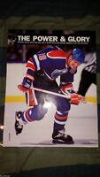 Wayne Gretzky LAMINATED 80's style Edmonton Oilers PICTURE