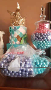 Birthday Decorations for frozen or mermaid theme
