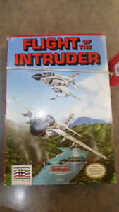 NES Flight of the Intruder in Box