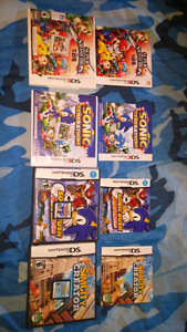 3DS and DS games!