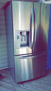 """LG 33"""" Stainless Steel Fridge (Open to offers), Quick Sell"""