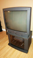 """32"""" RCA TV and Stand"""
