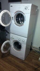 ensemble laveuse secheuse frantal legerment usager 438-403-2763