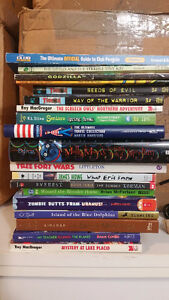 CHILDREN TEEN BOOKS AND NOVELS for sale 19 IN ALL mint condition