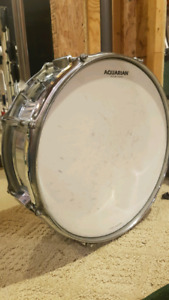 Snare drum 1970s HAUP SNARE with case and stand