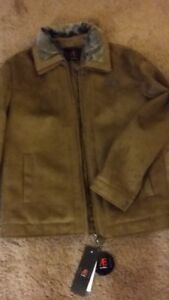 Leather and Suded jacket/ coat - BRAND NEW
