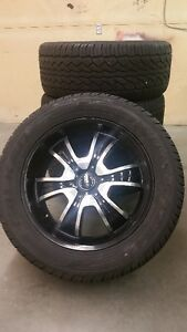 20 inch rims and tires ford and chevy 6 bolt pattern