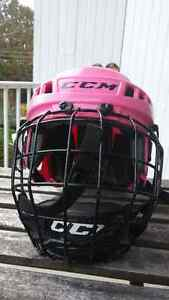 Casque xsmall fille avec grille