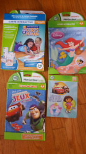 French Leap Frog books