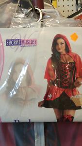 Costume deguisement de chaperon rouge red ridding hood halloween