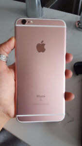 ROSE GOLD IPHONE 6S+ 16 GB- +  MOPHIE MEMORY BATTERY,  32GB CASE