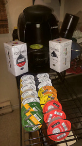 Bosch Tassimo t20 with extras